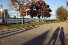 Einladende Uferpromenade