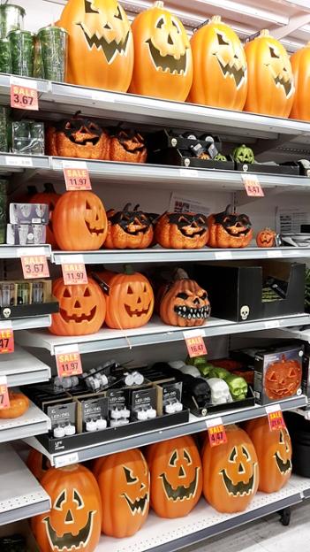 Halloween wird wirklich zelebriert