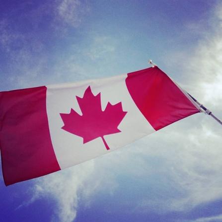 Als Familie in Kanada